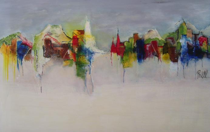 Favoriete Abstracte Schilderijen Acryl #OOZ82 - AgnesWaMu &HK48